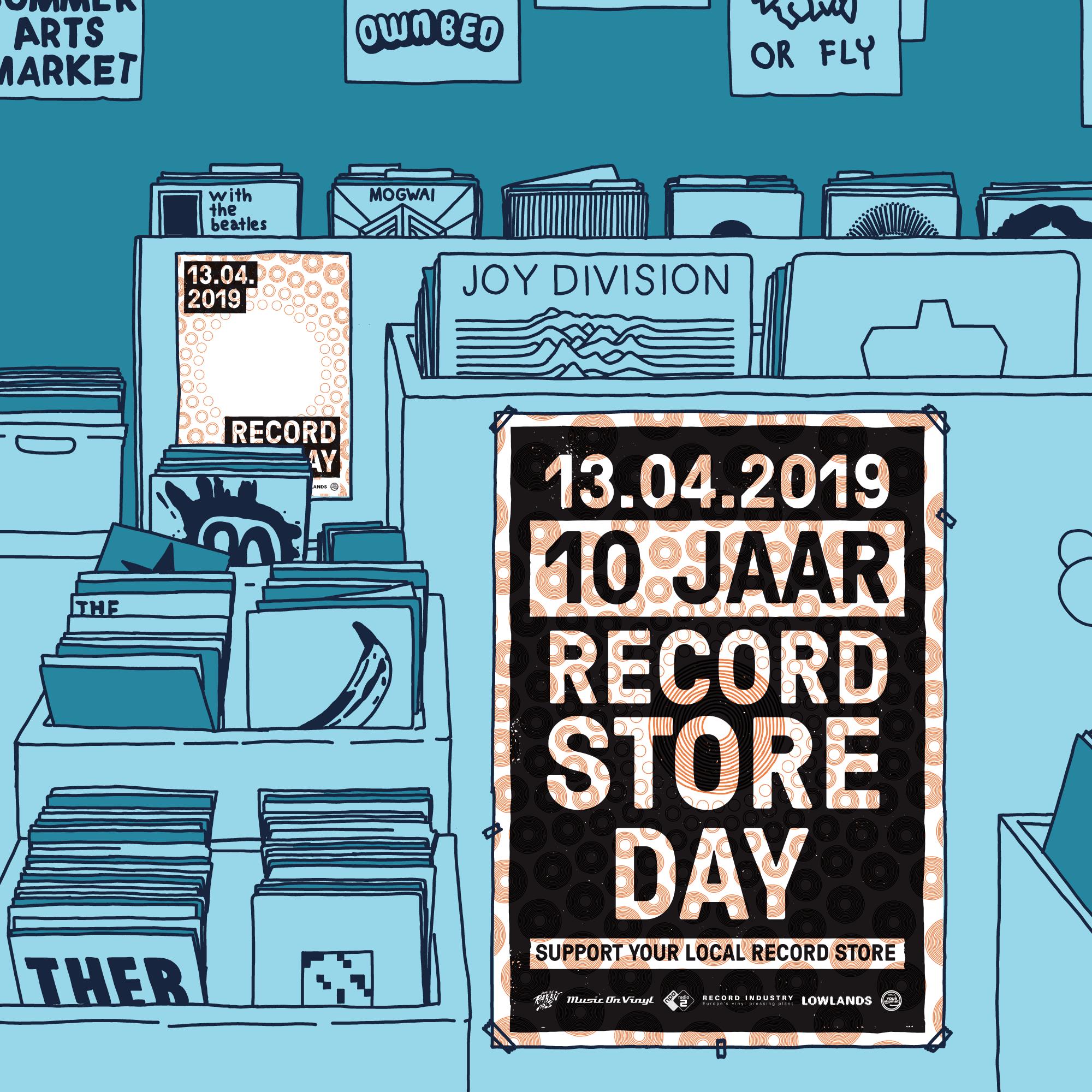 Jelle van Gosliga   Record Store Day